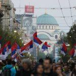 Lideri opozicije odneli ogradu sa Trga pred Gradsku skupštinu (VIDEO, FOTO) 4