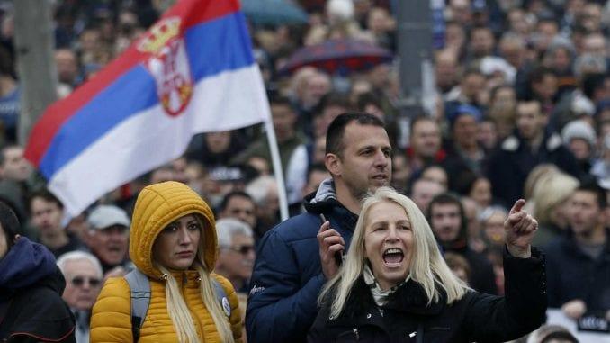 Govornici na protestu: Vučić je uzurpirao vlast, sa njim nemamo budućnost 1