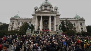 Govornici na protestu: Vučić je uzurpirao vlast, sa njim nemamo budućnost 2