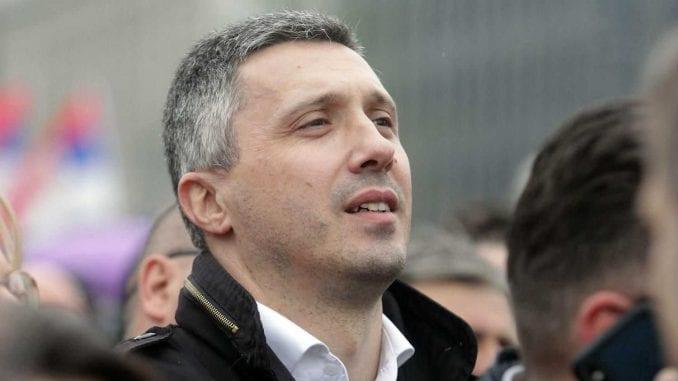 Obradović: Formiraćemo novu grupu Dveri, ali u Slobodnoj zoni Beograd 3
