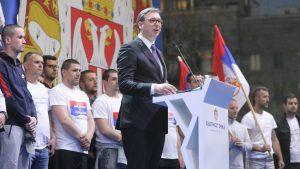 Vučić: Srbija pokazala jedinstvo, nikad više neću govoriti pre ovoliko ljudi