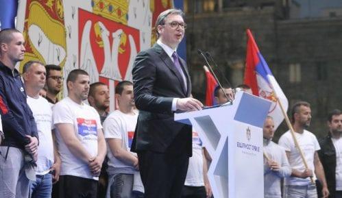 Vučić: Srbija pokazala jedinstvo, nikad više neću govoriti pred ovoliko ljudi 14