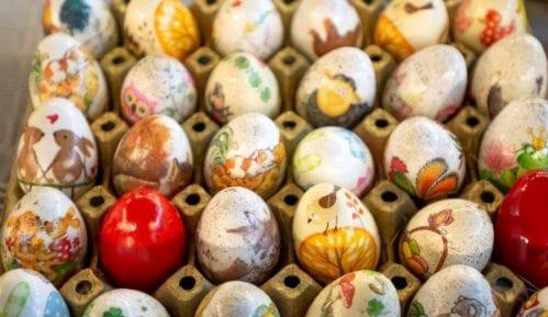 Uskršnja jaja na beogradskim pijacama 25. aprila 2