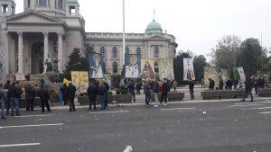 """Procena opozicije - 35.000 ljudi na protestu """"1 od 5 miliona"""" (FOTO, VIDEO) 7"""