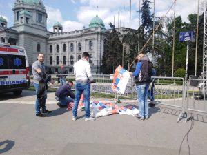 Završen miting SNS u Beogradu, bez procene MUP o broju okupljenih (FOTO, VIDEO) 22