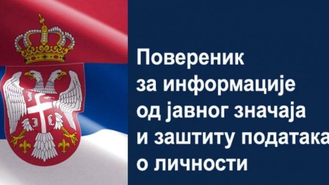 Poverenik podneo zahtev za pokretanje prekršajnog postupka protiv Crvenog krsta Medveđa 4