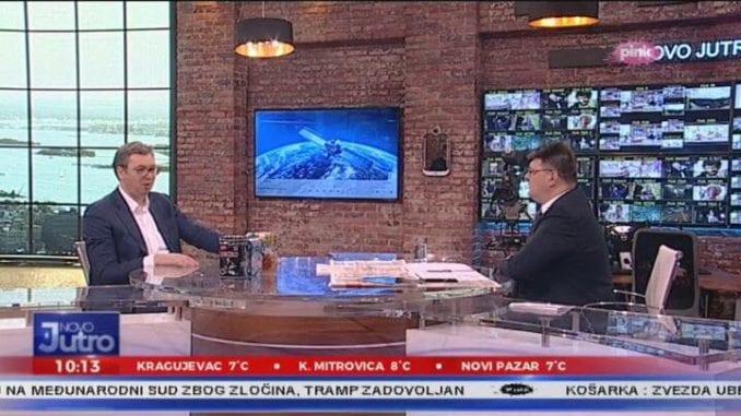 BIRODI: Na televizijama najzastupljenija Vlada Srbije, Vučić na Pinku 4