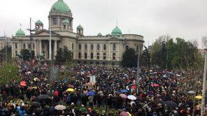 Vučić: Slušao sam sa terase govornike na protestu, nije ih se okupilo više od 7.500 3