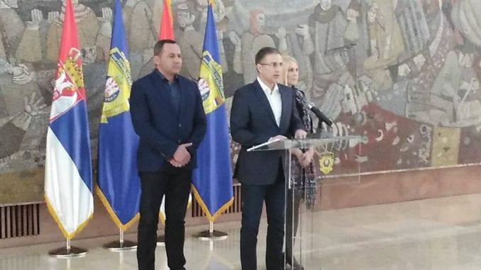 Stefanović: Broj okupljenih nakon govora smanjen na 5.000-6.000 2