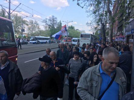 Završen miting SNS u Beogradu, bez procene MUP o broju okupljenih (FOTO, VIDEO) 7