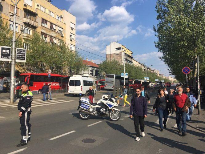 Završen miting SNS u Beogradu, bez procene MUP o broju okupljenih (FOTO, VIDEO) 19