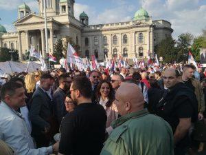 Završen miting SNS u Beogradu, bez procene MUP o broju okupljenih (FOTO, VIDEO) 4