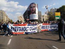 Završen miting SNS u Beogradu, bez procene MUP o broju okupljenih (FOTO, VIDEO) 16
