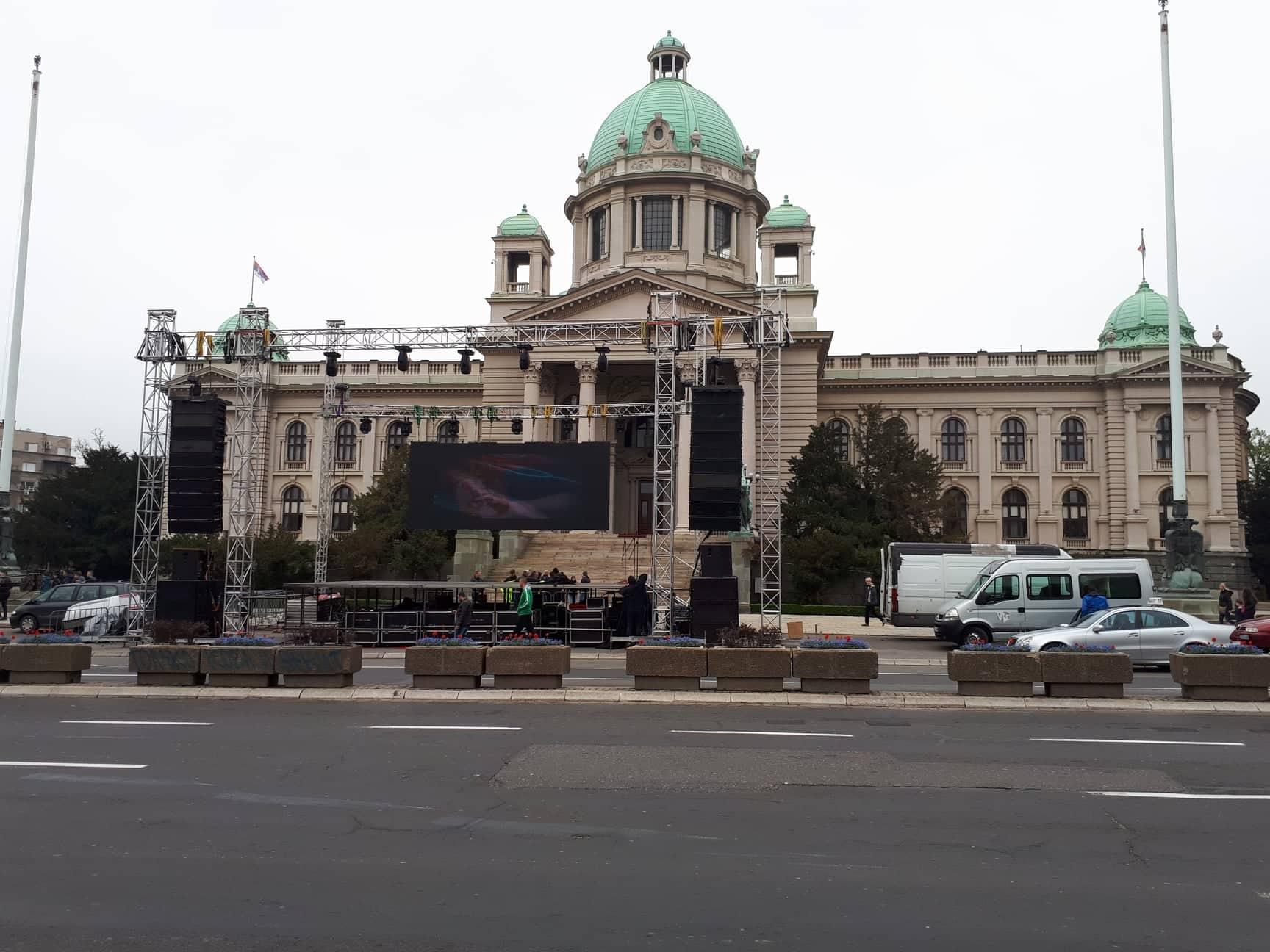 """Procena opozicije - 35.000 ljudi na protestu """"1 od 5 miliona"""" (FOTO, VIDEO) 20"""