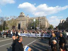 Završen miting SNS u Beogradu, bez procene MUP o broju okupljenih (FOTO, VIDEO) 17