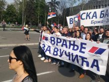 Završen miting SNS u Beogradu, bez procene MUP o broju okupljenih (FOTO, VIDEO) 11