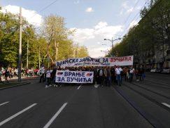 Završen miting SNS u Beogradu, bez procene MUP o broju okupljenih (FOTO, VIDEO) 14