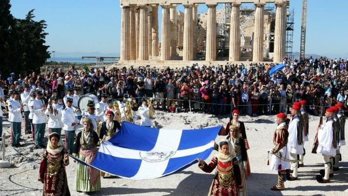 Akropolj zatvoren iz predostrožnosti zbog nevremena 1
