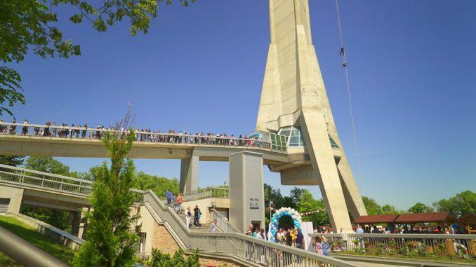 Novoizgrađeni Avalski toranj slavi deseti rođendan 1