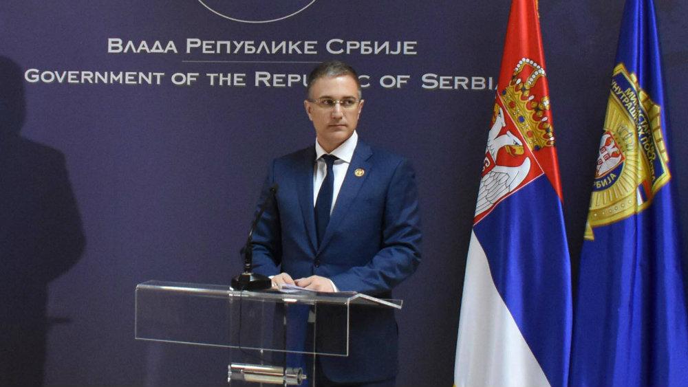 Stefanović negirao da je firma koja izvozi naoružanje u vlasništvu njegovog oca 1