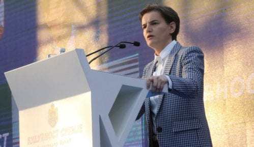 Brnabić na mitingu: Srbija nije podeljena zemlja, opozicija nema program 12