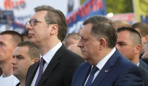 Dodik: Svaka čast Vučiću na jedinstvu Srbije 9