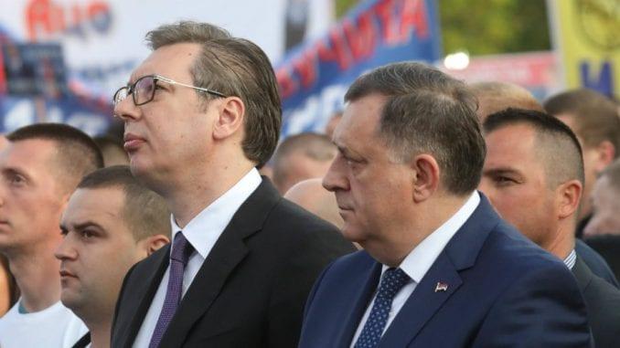 Dodik: Svaka čast Vučiću na jedinstvu Srbije 1