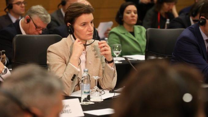 Brnabić: Nema zamene za Briselski dijalog 1