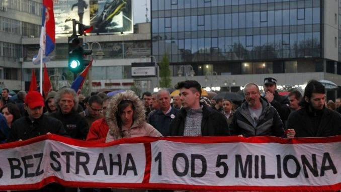 Velika očekivanja južnjaka pred put u sopstvenoj režiji na protest u BG 1