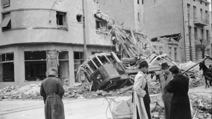 Narodna biblioteka - prva meta nemačke avijacije pre 80 godina 5