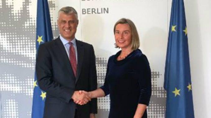 Tači: Podela Kosova mrtva ideja, sporazum moguć ako se uključe SAD 1