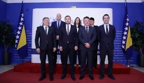 Samit gradonačelnika glavnih gradove Jugoistočne evrope u Sarajevu 1