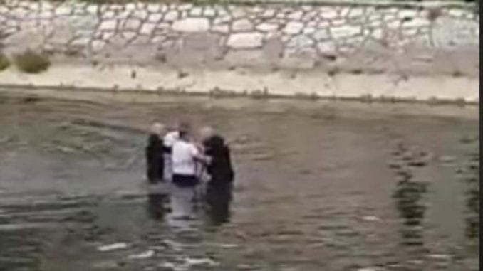 Hapšenje usred Nišave (VIDEO) 1