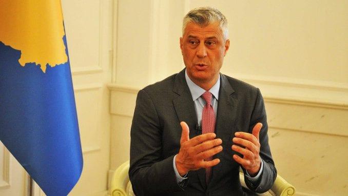 Tači: Sporazum sa Srbijom, NATO i EU 1