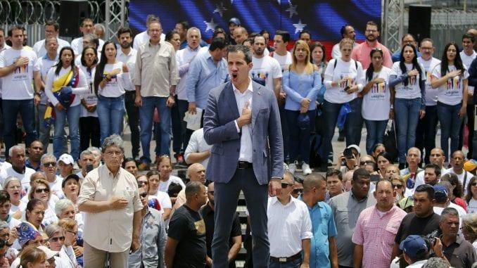 Gvaido pozvao vojsku Venecuele da mu se pridruži 1