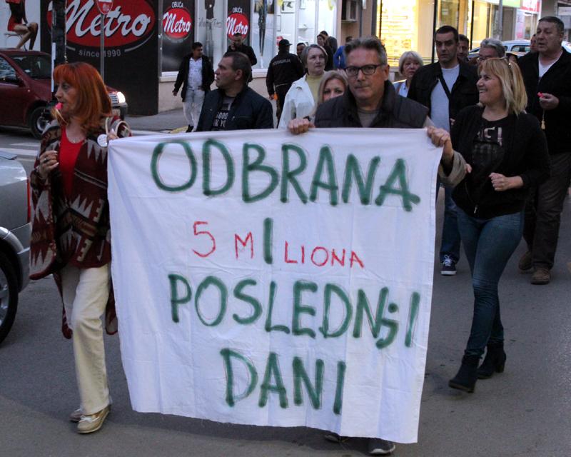 """Protesti """"1 od 5 miliona"""" u više gradova i opština (FOTO, VIDEO) 5"""