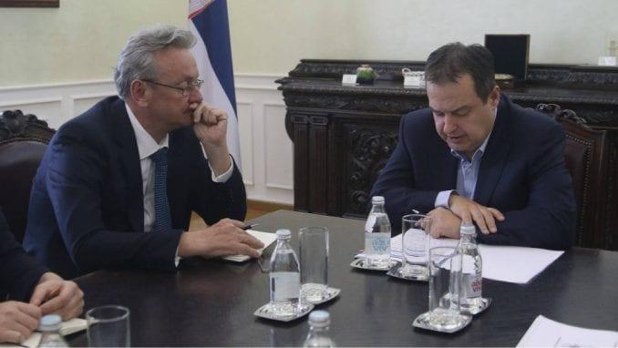 Dačić s ambasadorom Slovenije: Izuzetno dinamična saradnja dve zemlje 2