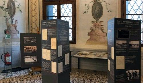 Izložba Arhiva Srbije o Prvom svetskom ratu otvorena u Palati Kordelina u Vićenci 11