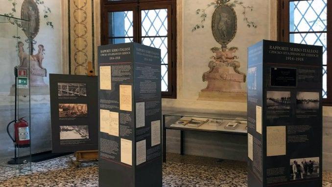 Izložba Arhiva Srbije o Prvom svetskom ratu otvorena u Palati Kordelina u Vićenci 4