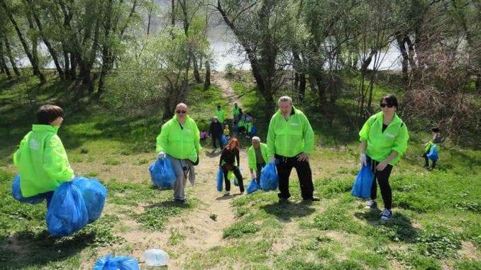 Zelene brigade čistile Rumu, Novi Sad i Zrenjanin 2