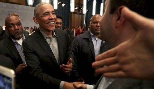Obama poručio mladima u Evropi da neguju razumnu debatu na internetu 12
