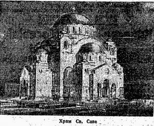 Kako su izgledale pripreme za osvećenje temelja Hrama Svetog Save? 3