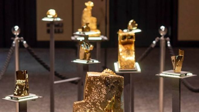 Otvorena prva izložba skulptura od zlata 1