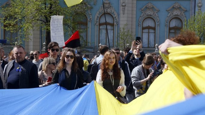 Ukrajinski parlament usvojio kontroverzni predlog zakona o jeziku 1