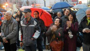 """Naprednjaci """"brane"""" užičku skupštinu od mirnih demonstranata 3"""