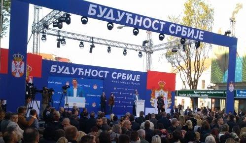 """Vučić:  Rejting """"onih koji hoće na ulici da dođu na vlast"""" ispod deset odsto 15"""