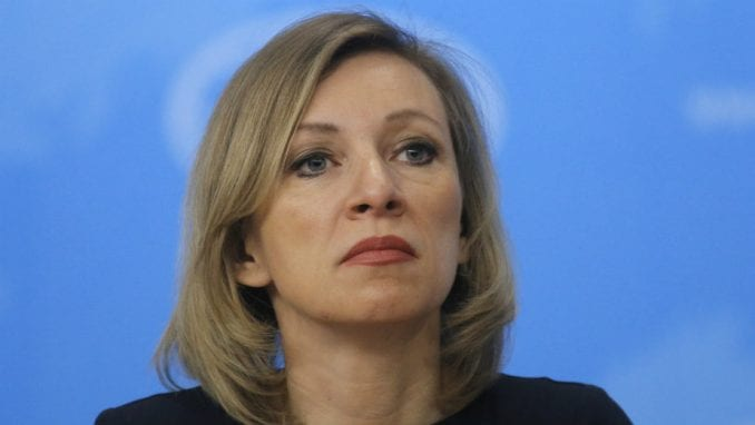Zaharova tvrdi da je video o špijunima provokacija i da ne razume saopštenje srpske Vlade 3