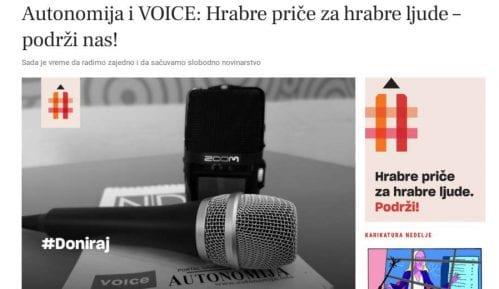 Autonomija i VOICE pokrenuli opciju za donacije čitalaca 4