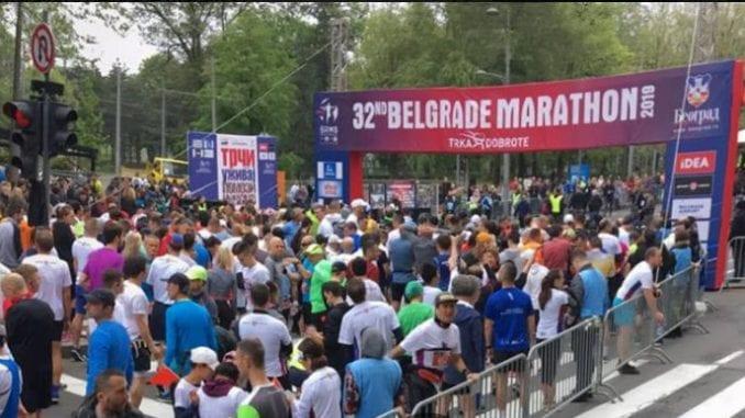 Umesto na Beogradskom maratonu - trka solidarnosti u Kini 2