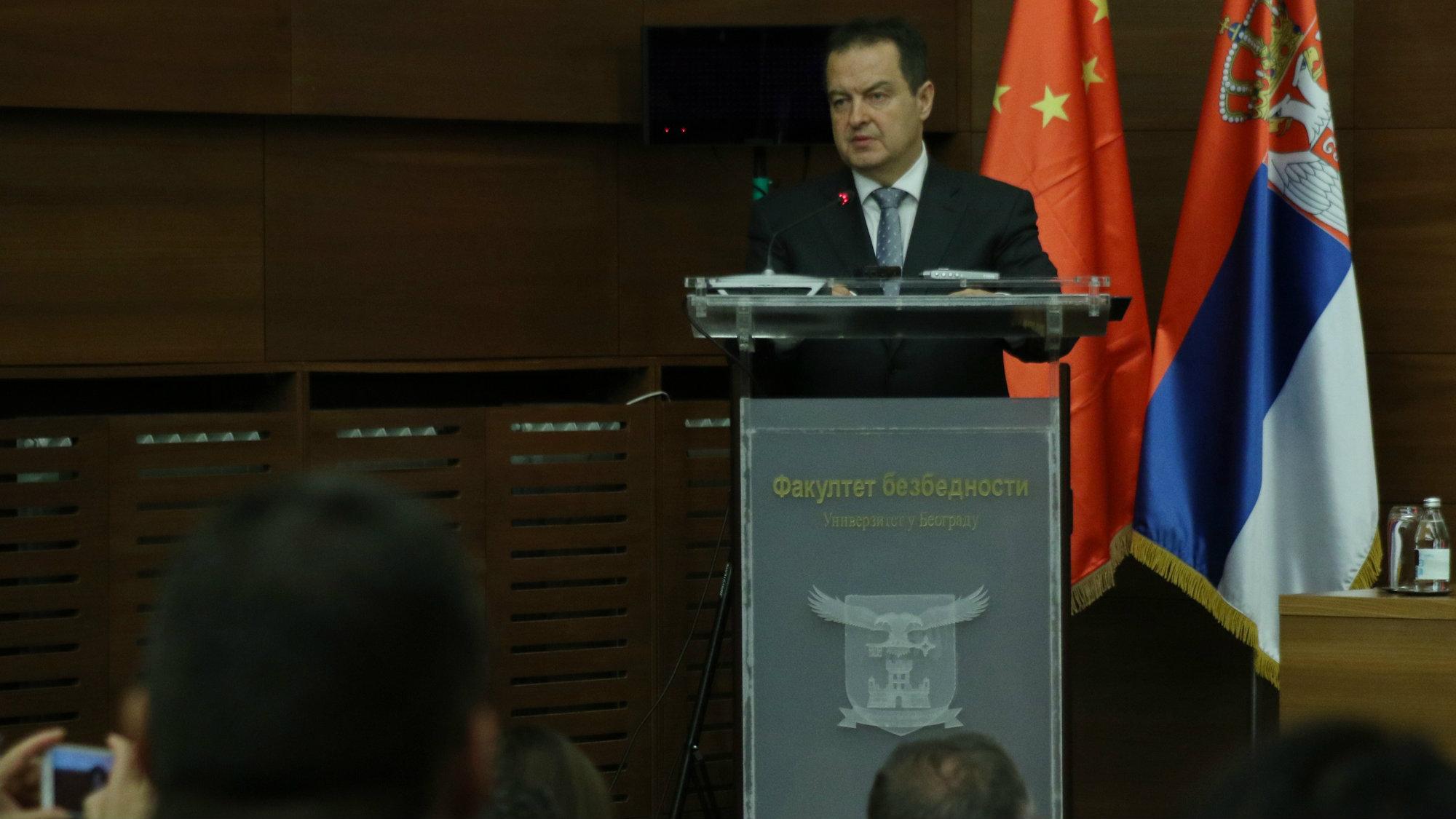 Dačić: Srbja pridaje veliki značaj saradnji sa Kinom i inicijativi Pojas i put 1